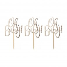 Oh Baby! Cake Toppers Pack of 12