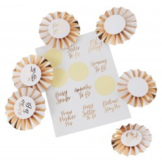 Oh Baby! Party Supplies - Badges