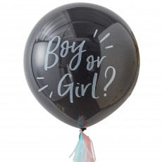 Oh Baby! Confetti Gender Reveal Latex Balloons