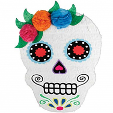 Halloween Day of the Dead Sugar Skull Pinata