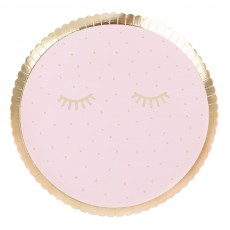 Round Pamper Club Lunch Plates 21.5cm Pack of 8