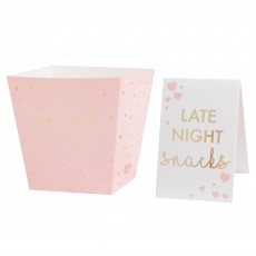 Pamper Club Late Night Snacks Bar Kit Favour Boxes Pack of 8