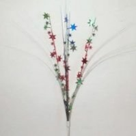 Multi Colour ed Onion Grass Stars Spangle