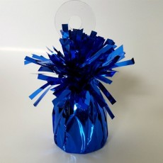 Blue Dark Heavy Duty Mylar Balloon Weight
