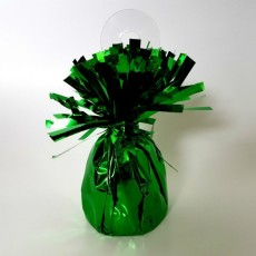 Green Heavy Duty Mylar Balloon Weight