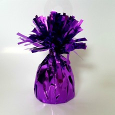 Purple Heavy Duty Mylar Balloon Weight