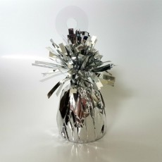Silver Heavy Duty Mylar Balloon Weight