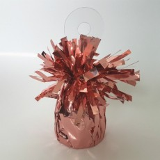 Pink Rose Heavy Duty Mylar Balloon Weight