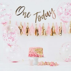 Girl's 1st Birthday Party Supplies - Party Pick & Mix Smash Kit Girl