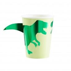 Dinosaur Roar Paper Cups 266ml Pack of 8
