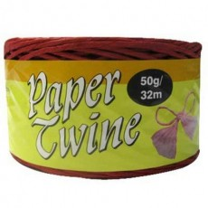 Red Paper Twine Balloon Ribbon
