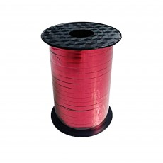 Red Metallic Balloon Ribbon