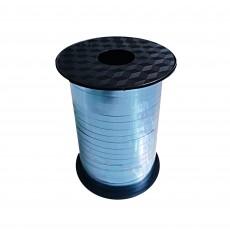 Blue Light Metallic Balloon Ribbon