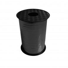 Black Metallic Balloon Ribbon 225m x 5mm