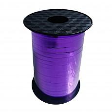 Purple Metallic Balloon Ribbon 225m x 5mm