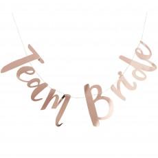 Hens Night Team Bride Team Bride Banner 1.5m