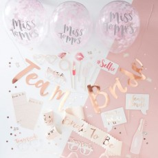 Wedding Party Supplies - Party Packs Team Bride