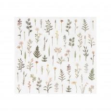 Lets Par Tea Floral Lunch Napkins 12.5cm x 12.5cm Pack of 16