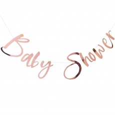 Twinkle Twinkle Rose Gold  Banner