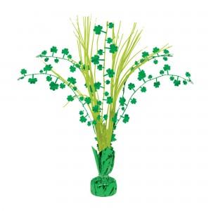St Patrick's day Shamrock Centrepiece