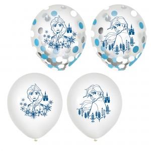 Disney Frozen 2 Confetti Filled Latex Balloons