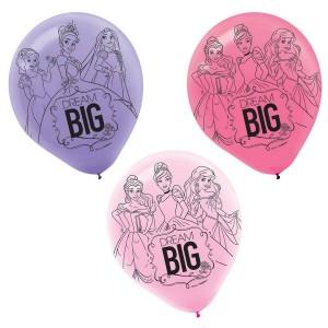 Disney Princess Dream Big Latex Balloons