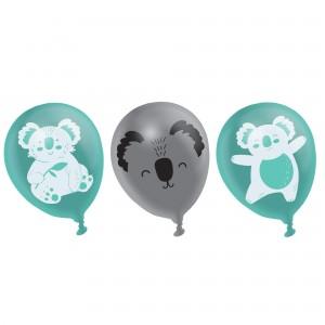 Koala Latex Balloons