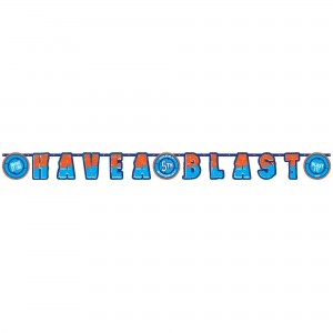 Nerf Add an Age Birthday Party Jumbo Banner Have A  Blast