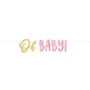 Oh Baby Girl Letter Decorating Kit