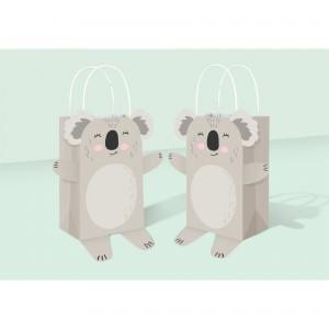 Koala Kraft Bags Favour Bags