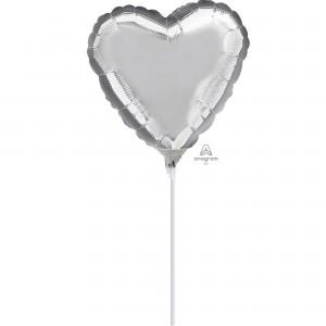 Silver Shaped Balloon