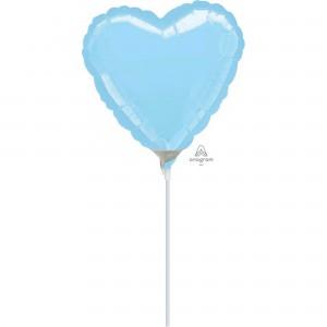 Blue Pastel  Shaped Balloon
