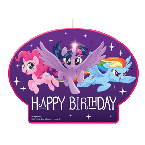My Little Pony Friendship Adventures Candle