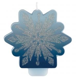 Disney Frozen 2 Glittered Candle