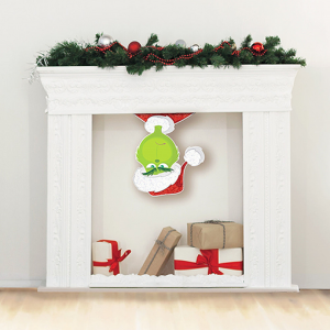 Christmas Dr Seuss The Grinch Movie Upside Down Cutout