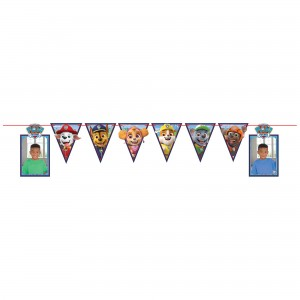 Paw Patrol Photo Ribbon Banner