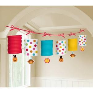 Fisher Price 1st Birthday Circus Garland Lantern