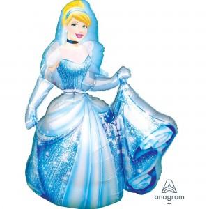 Cinderella Airwalker Foil Balloon