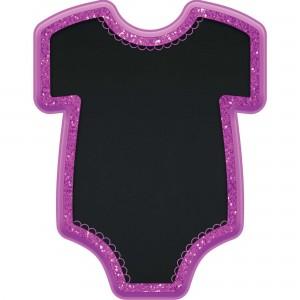 Baby Shower - General Baby Girl Bodysuit Glittered Easel Misc Decoration