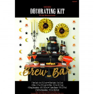 Halloween Brew Bar Decorating Kit