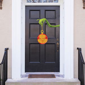 Christmas Dr Seuss The Grinch Movie Door Decoration