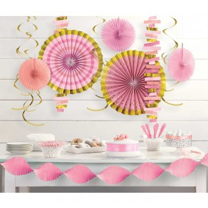 Baby Shower - General Girl Room Decorating Kit