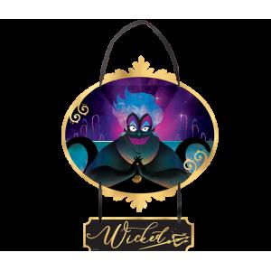 Disney Villains Mini Sign Hanging Decoration