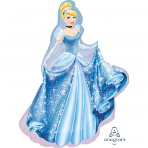 Cinderella SuperShape XL Shaped Balloon