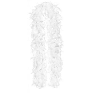 White Feather Boa Costume Accessorie