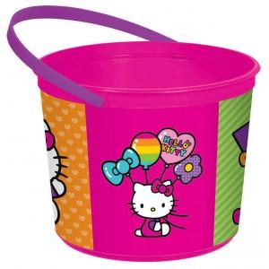 Hello Kitty Rainbow Plastic Favour Boxe