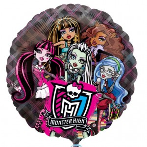 Monster High See-Thru Foil Balloon
