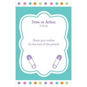 Baby Shower - General Ball Toss Party Game