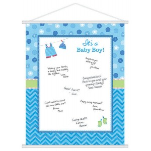 Shower with Love Boy Sign In Sheet Misc Accessorie