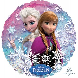 Disney Frozen Standard Holographic Foil Balloon